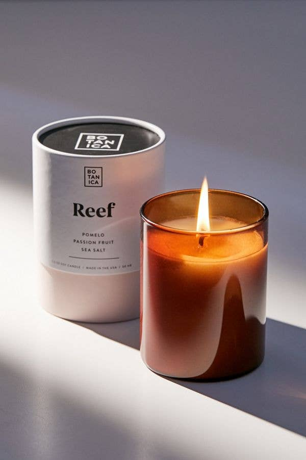 reef soy candle