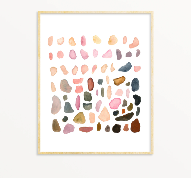 Rock Collection No. 2 Print