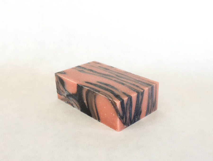 rose charcoal facial soap