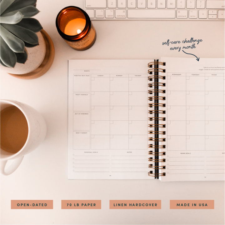Self-Care Daily Planner