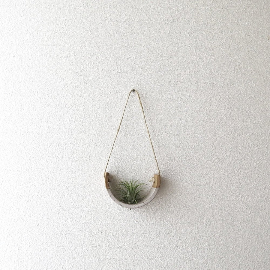 Speckled White Air Plant Cradle