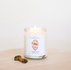 Tigers Eye Crystal Candle