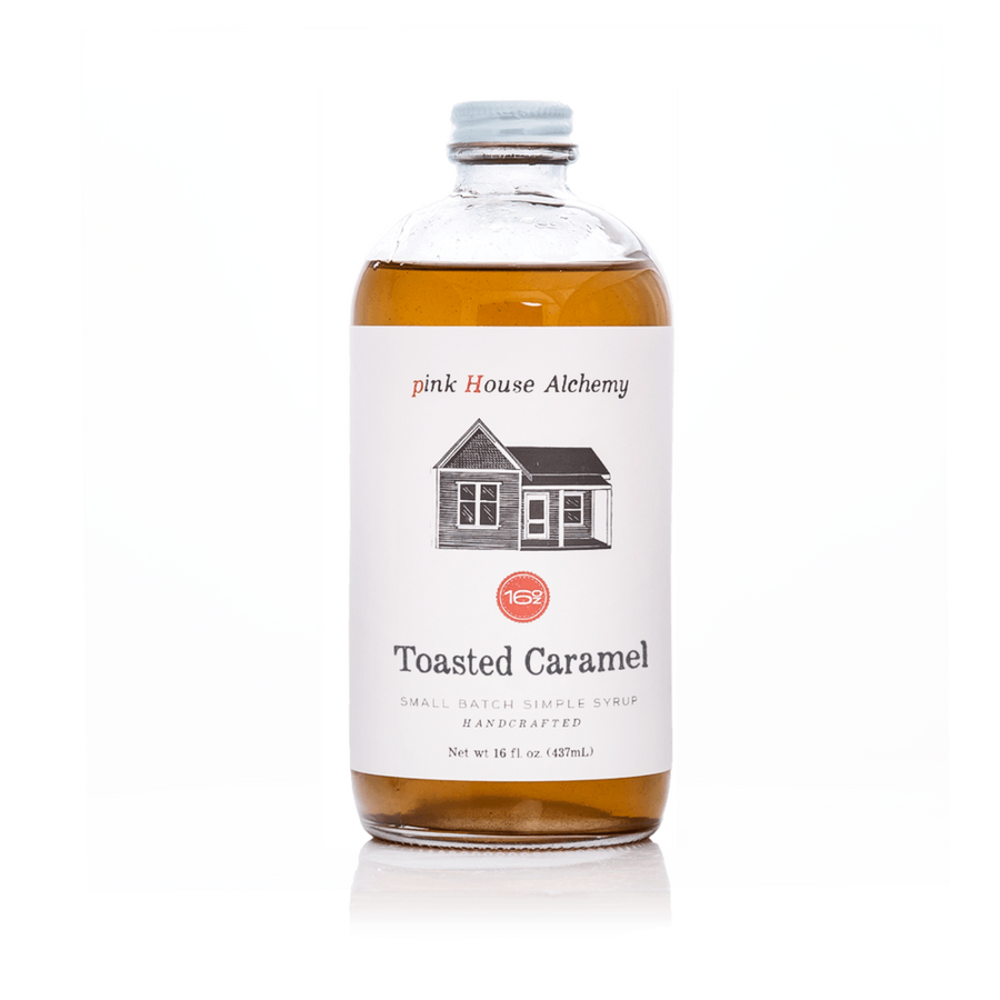 toasted caramel simple syrup