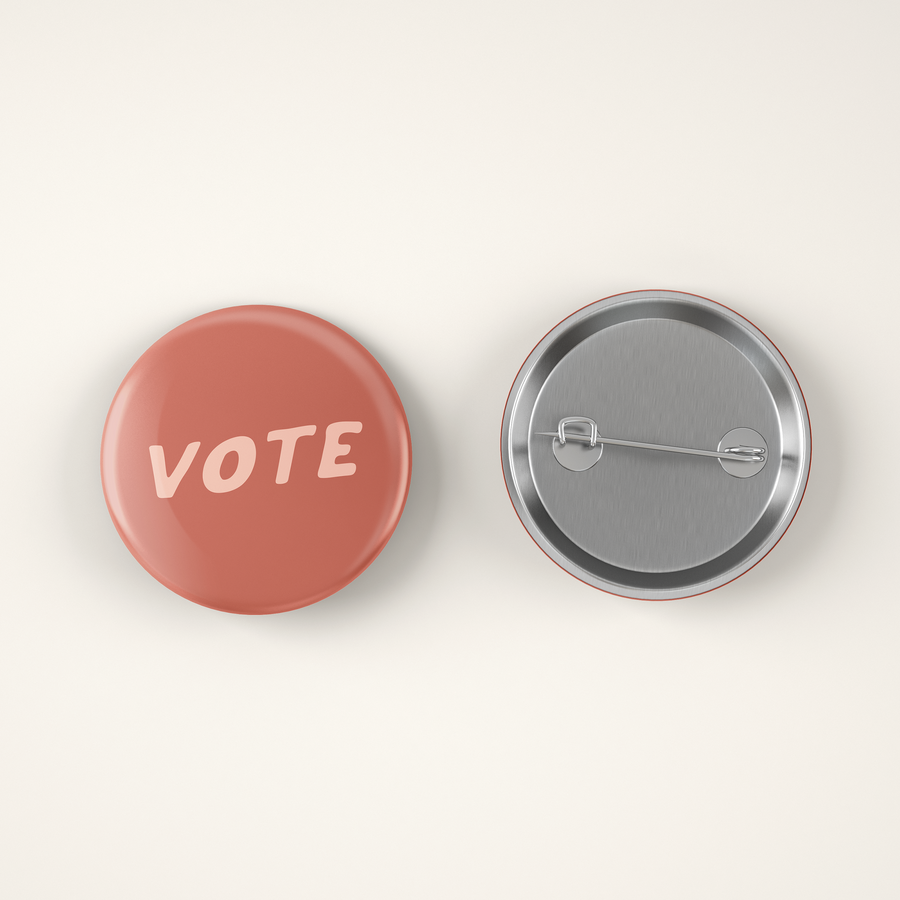 Vote Button Pin