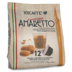 101 Coffee with Amaretto biscuit DGU 12pcs