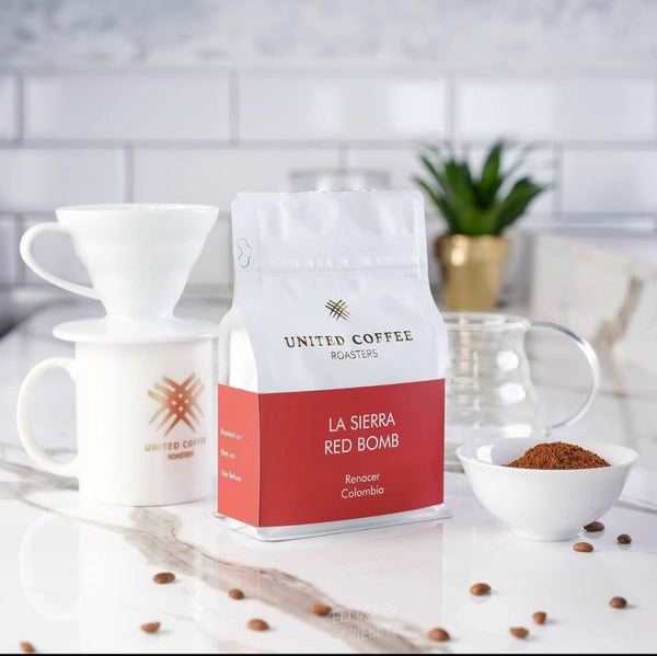 United Coffee Roasters-La Sierra   Red Bomb   250g