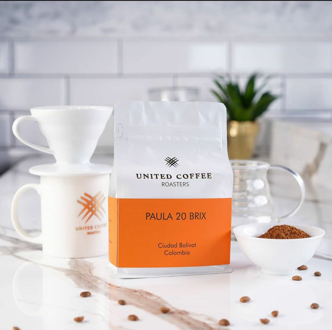 United Coffee Roasters-Paula 20 Brix  Colombia 250g