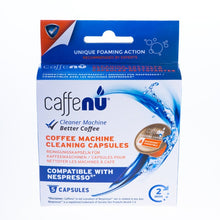 Load image into Gallery viewer, caffenu cleaning capsules for nespresso  - كبسولات كافيه نيو تنظيف لماكينة النسبرسو
