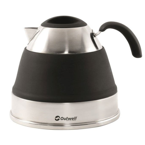 Outwell - Collaps Kettle 2.5L- black | اوت ويل - قابل للطي 2.5 لتر - اسود