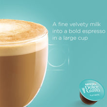 Load image into Gallery viewer, Nescafe Dolce Gusto Flatwhite 16Caps كبسولات دولتشي جوستو فلات وايت
