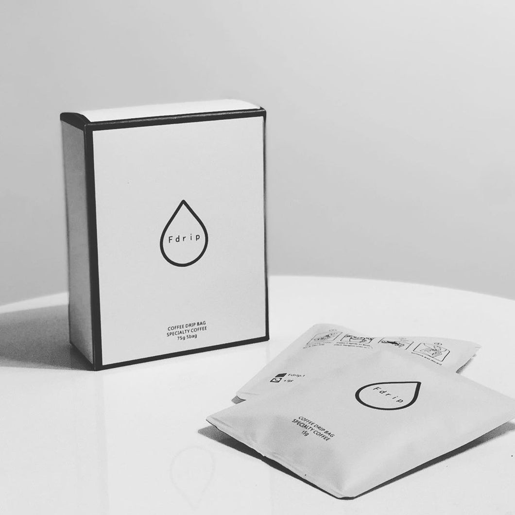 Fdrip  Coffee drip  5 bags Ethiobia coffee by 48East- أكياس القهوة المقطرة