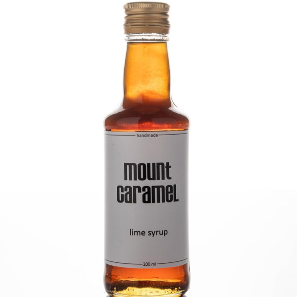 Mount caramel Lime Natural Syrup - 200ml  شراب سيرب الليمون الاخضر