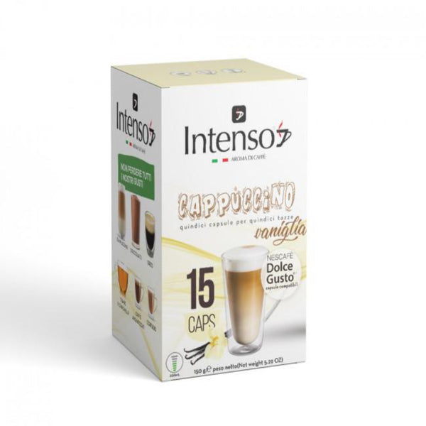 Intenso - Cappuccino with Vanilla Dolce gusto |  انتينسو - كابتشينو بالفانيليا