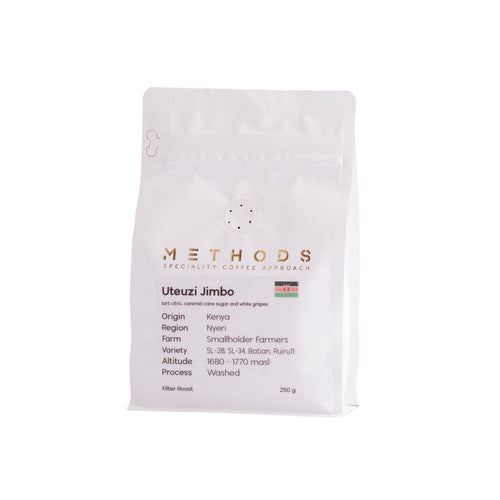 Methods Kenya - Utezi Jimbo AA / Filter250g | فلتر / كينيا - يوتيزي جمبو AA