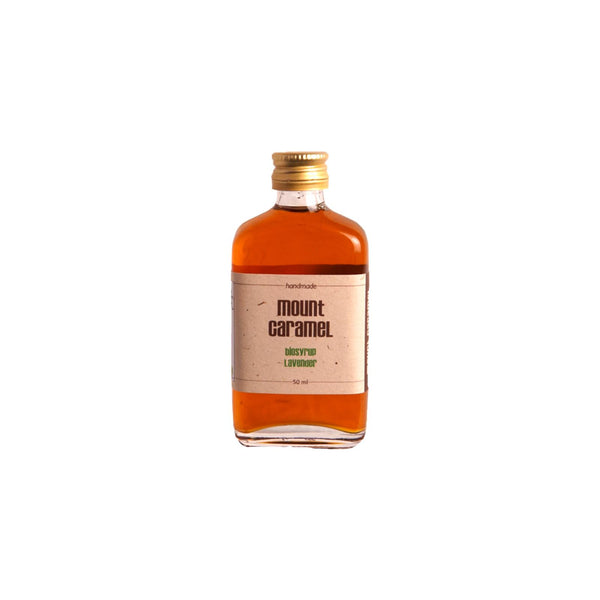 Mount Caramel-Lavender Organic Syrup - 50 ml-  شراب سيرب لافندر عضوي