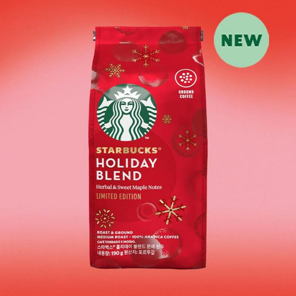 Starbucks Holiday Blend Beans Coffee |  قهوة ستاربكس هوليدي بلند الحبوب