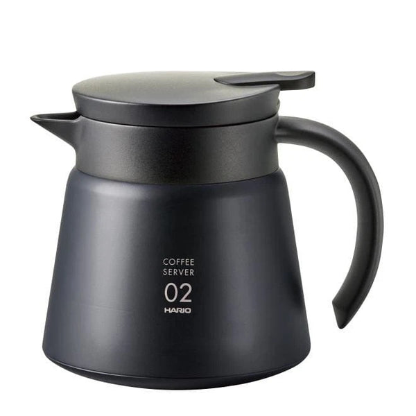 Hario – V60 Heat Retaining Stainless Server 600ml – Black