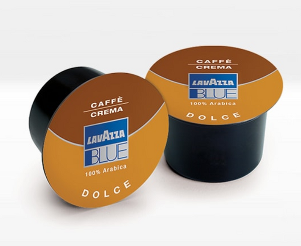 Lavazza  Blue Coffee Creme Capsules 100 Caps-كبسولات لافازا كوفي كريم100 كبسولة