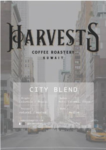 Harvests -City Blend coffee  Beans 250gm- هارفستس مزيج الاسبرسو حبوب 250 جرام