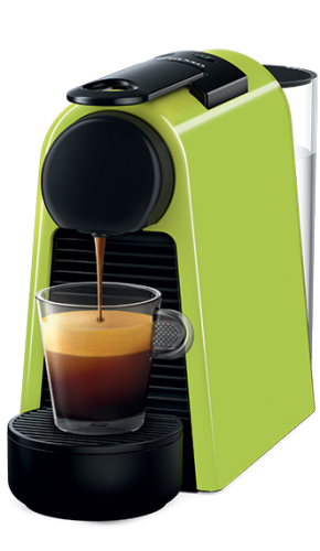 Nespresso Essenza Mini Coffee Machine, Green  by Magimix | ماكينة نسبرسو اسينزا ميني -أخضر