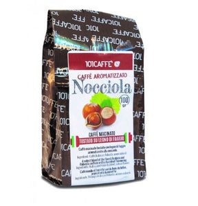 101 Caffè alla Nocciola- Hazelnut  flavor Ground Coffee 100 gm