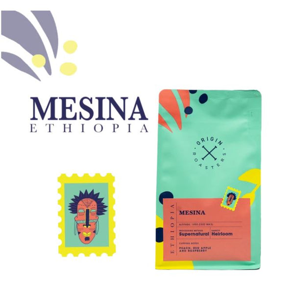 Origin Coffee Roasters Ethiopia - Mesina 250g