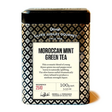 Load image into Gallery viewer, Dilmah Moroccan mint green tea | 100g شاي دلما  أخضر مغربي بالنعناع