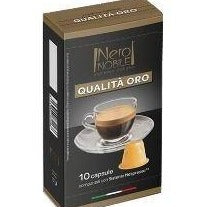 Caps Qualita ORO- Nero Nobile- كبسولات قهوة كواليتا اورو