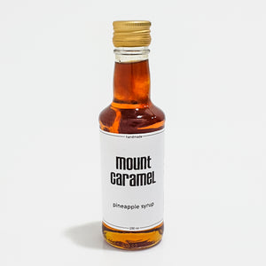 Mount caramel Pineapple Natural Syrup - 200ml  شراب سيرب الاناناس