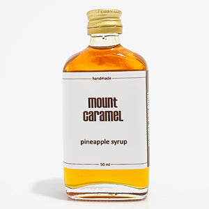 Mount caramel Pineapple Natural Syrup - 50ml  شراب سيرب الاناناس