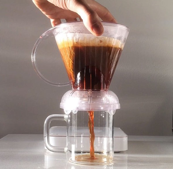 Clever Coffee Dripper With  Filters Included  | Clear Color