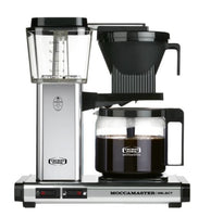 MoccaMaster- KBG Select- Polished silver-Coffee machine