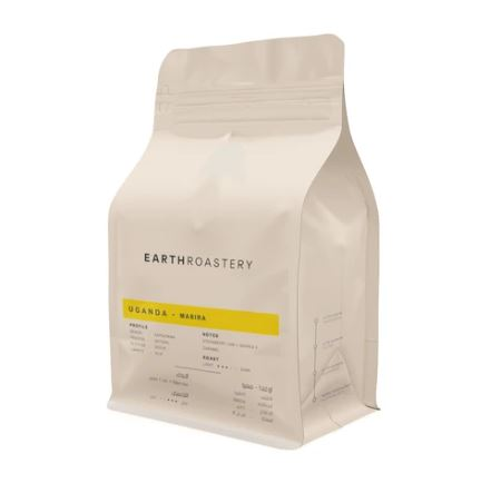 Earth Roastry -UGANDA MASIRA Roasted Beans 250 gm