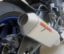 Load image into Gallery viewer, Graves Motorsports 2015-2020 Yamaha R1 Cat Eliminator Titanium 3/4 Exhaust