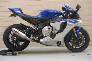 Graves Motorsports 2015-2020 Yamaha R1 Cat Eliminator Titanium 3/4 Exhaust