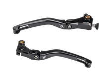 Load image into Gallery viewer, Bonamici Folding Brake and Clutch Levers Black for 2020+ BMW S1000RR