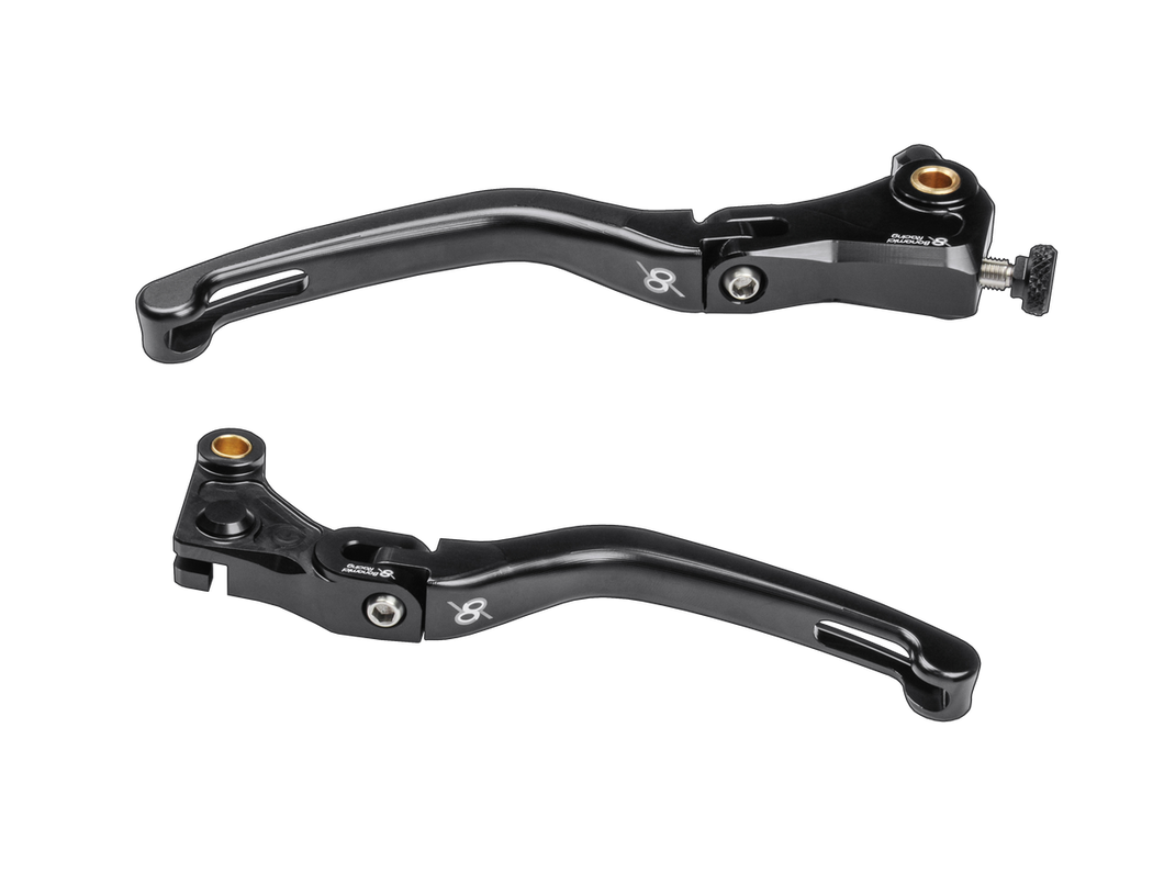 Bonamici Folding Brake and Clutch Levers Black for 2020+ BMW S1000RR