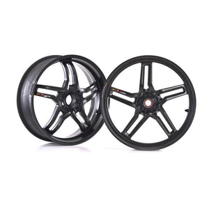 BST Rapid TEK Carbon Fiber Wheel Set for Panigale 1199 / 1299 / V4 / V4R / V4 Streetfighter