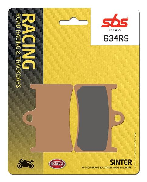 SBS RS Sinter - Front Brake Pads (634RS)