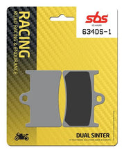 Load image into Gallery viewer, SBS Dual Sinter 1 (634DS-1) Front Brake Pads