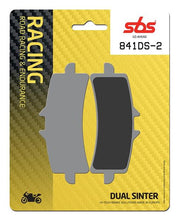 Load image into Gallery viewer, SBS Dual Sinter 2 (841DS-2) Front Brake Pads