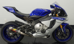 Graves Motorsports 2015-2020 Yamaha R1 Full Titanium Exhaust System with 200mm Silencer