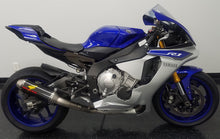 Load image into Gallery viewer, Graves Motorsports 2015-2020 Yamaha R1 Full Titanium Exhaust System with 265mm Silencer