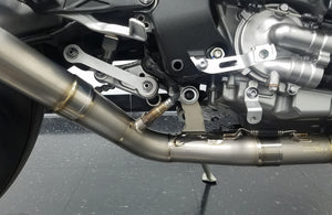 Graves Motorsports 2015-2020 Yamaha R1 Full Titanium Exhaust System with 265mm Silencer