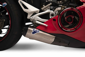 Termignoni Dual Slip-On Race Exhaust Kit for 2020+ Ducati V4 Panigale