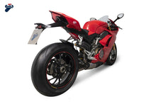 Load image into Gallery viewer, Termignoni Dual Slip-On Race Exhaust Kit for 2020+ Ducati V4 Panigale
