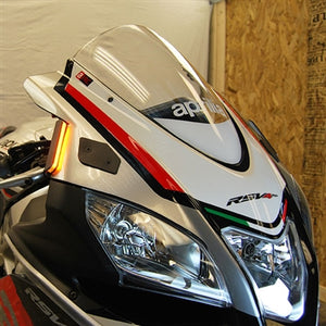 New Rage Cycles Front Turn Signals - Aprilia RSV4