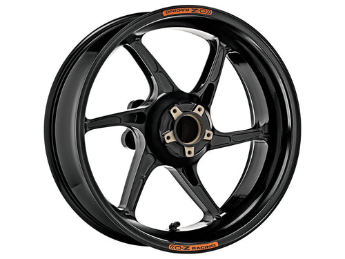 OZ Racing - Cattiva Magnesium 6 Spoke Rear Wheel (Gold, Gloss Black, & Matte Black)