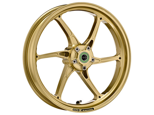 OZ Racing - Cattiva Magnesium 6 Spoke Front Wheel (Gold, Gloss Black, & Matte Black)