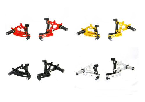 Ducabike PR119902 Adjustable Rearsets for Ducati Panigale